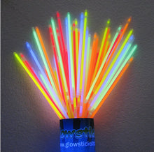 50 PACK - Super Bright Assorted Glow Bracelets (6mm Thick) only .26c each
