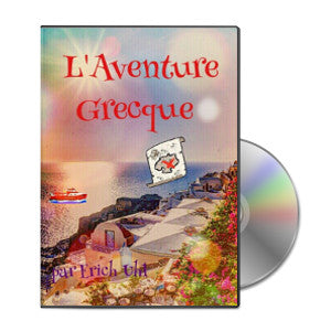 THE GREEK ADVENTURE AUDIO BOOK - FRENCH