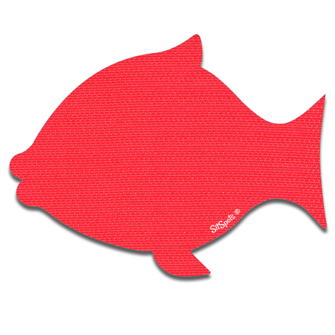 Fish - Bright Red