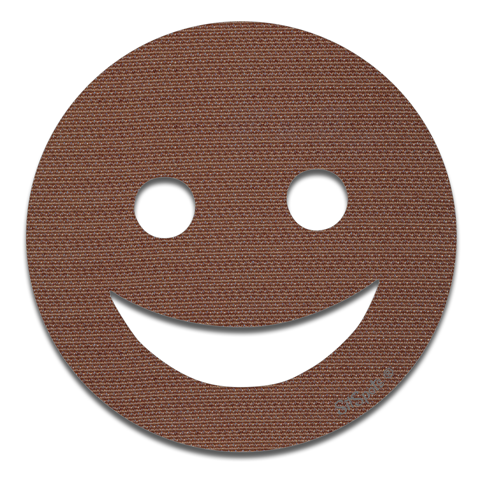 Happy Face - Brown