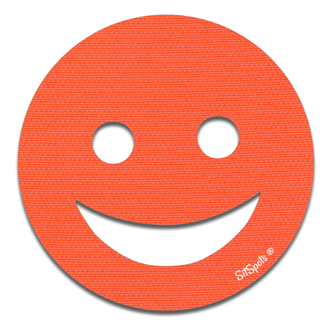 Happy Face - Orange