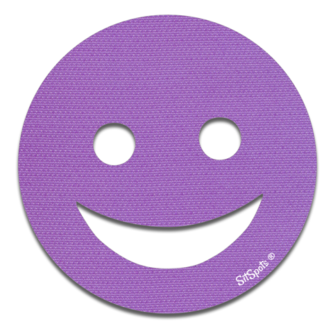 Happy Face - Purple