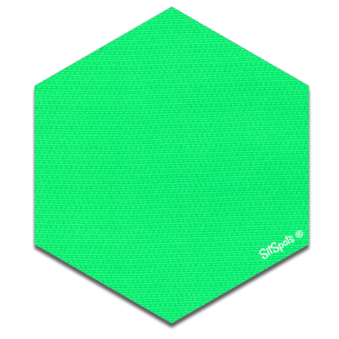 Hexagon - Bright Green