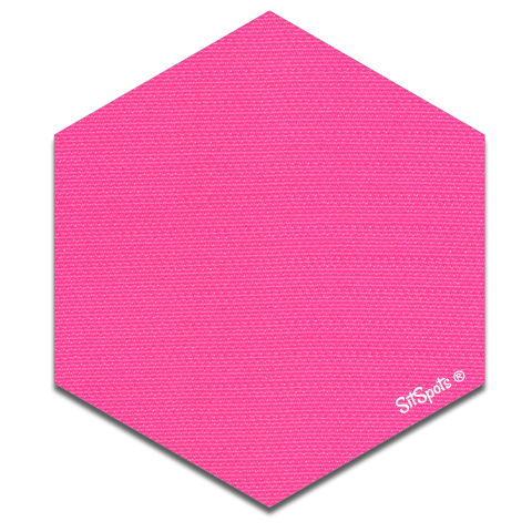 Hexagon - Bright Pink
