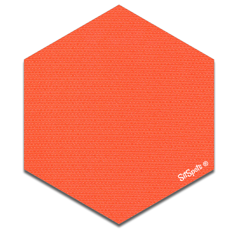 Hexagon - Orange