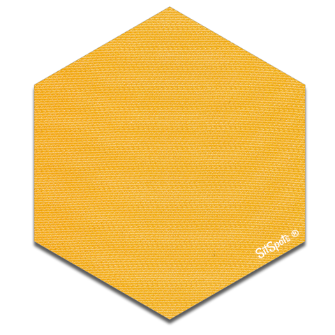 Hexagon - Yellow