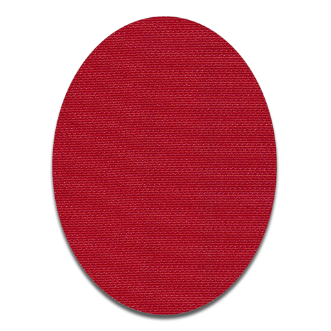 Oval - Red