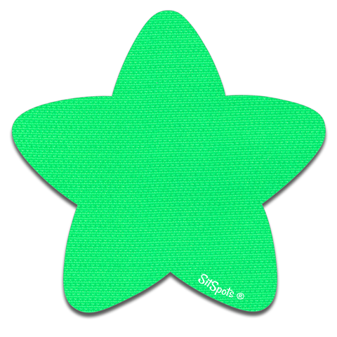 Star - Bright Green