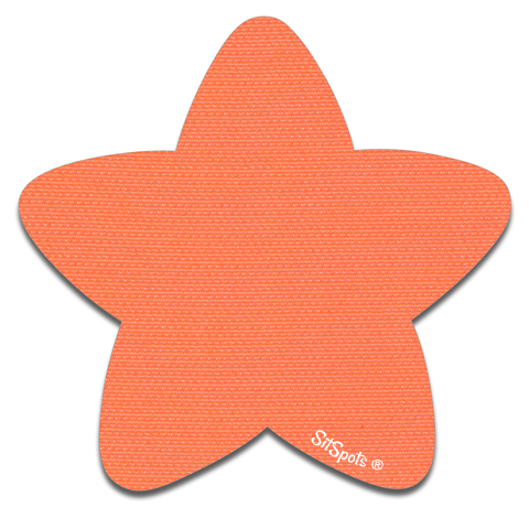 Star - Bright Orange