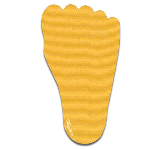Footprint Right - Yellow