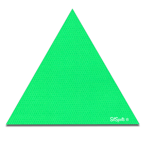 Triangle - Bright Green