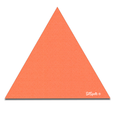 Triangle - Bright Orange