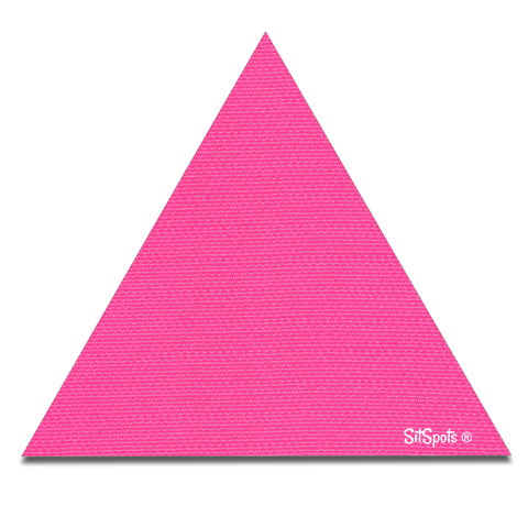 Triangle - Bright Pink