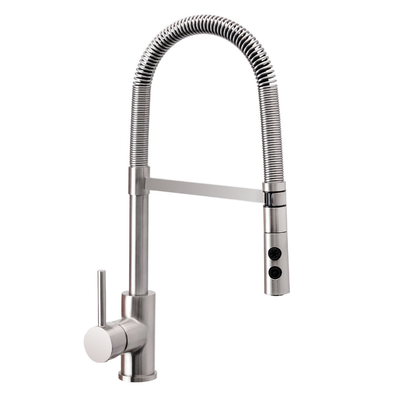 Wasserrhythm Pull Out And Pull Down Sprayer Spring Kitchen Faucet Brus Betterfaucet