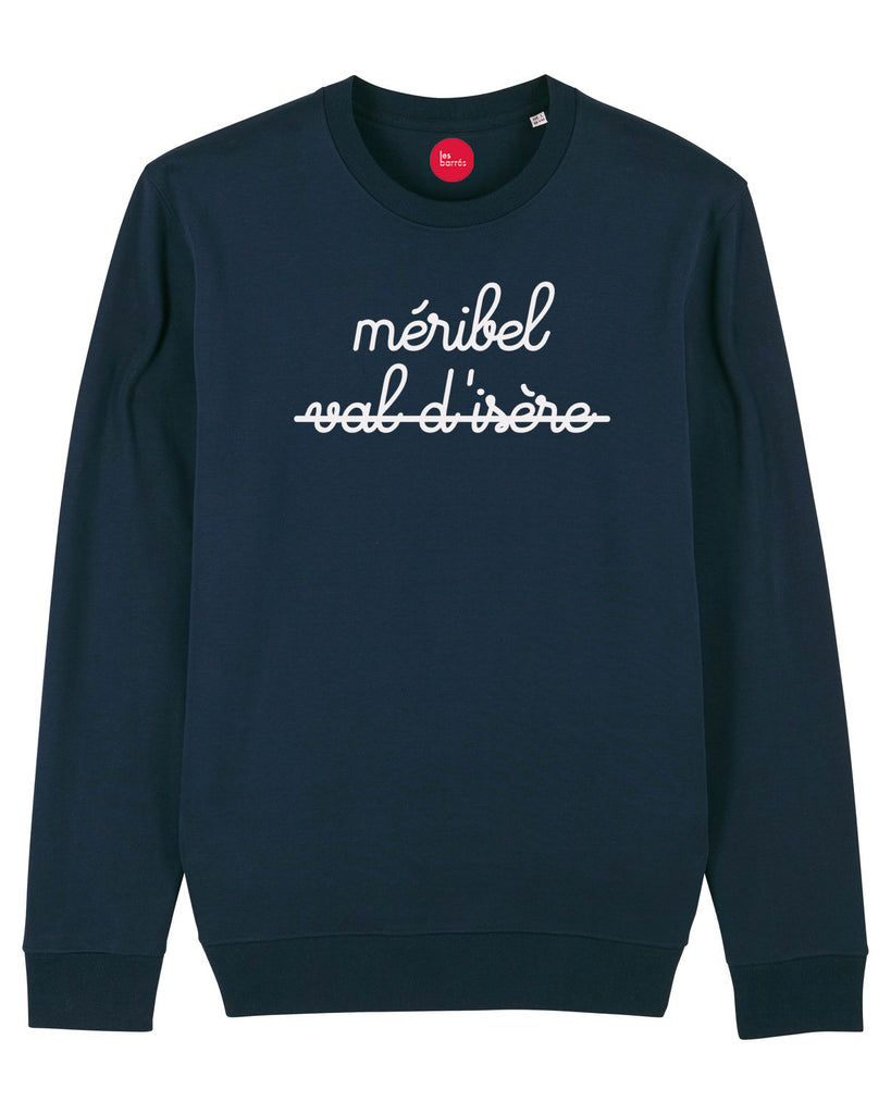 sweat marine homme méribel