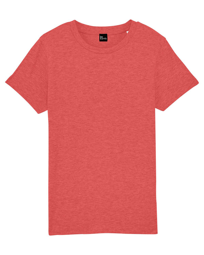 Tee-shirt rouge chiné