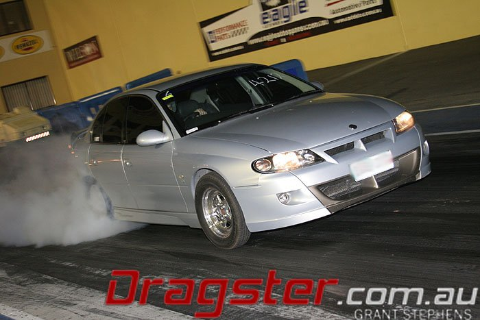 Super Street Drag Racing with a a HSV or Holden Commodore LS1 LS2 LS3
