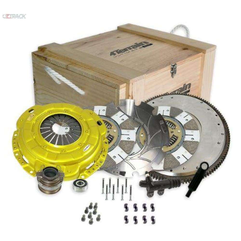4Terrain Ultimate Twin Disc Series clutch kit for Landcruiser Single Turbo V8 - Clutch