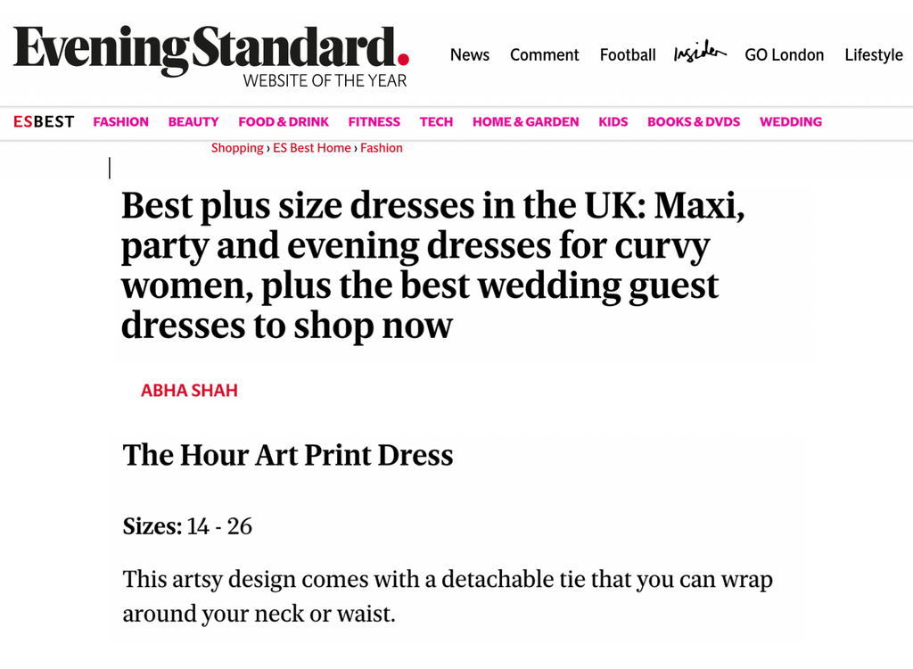 Best plus size dresses in the UK