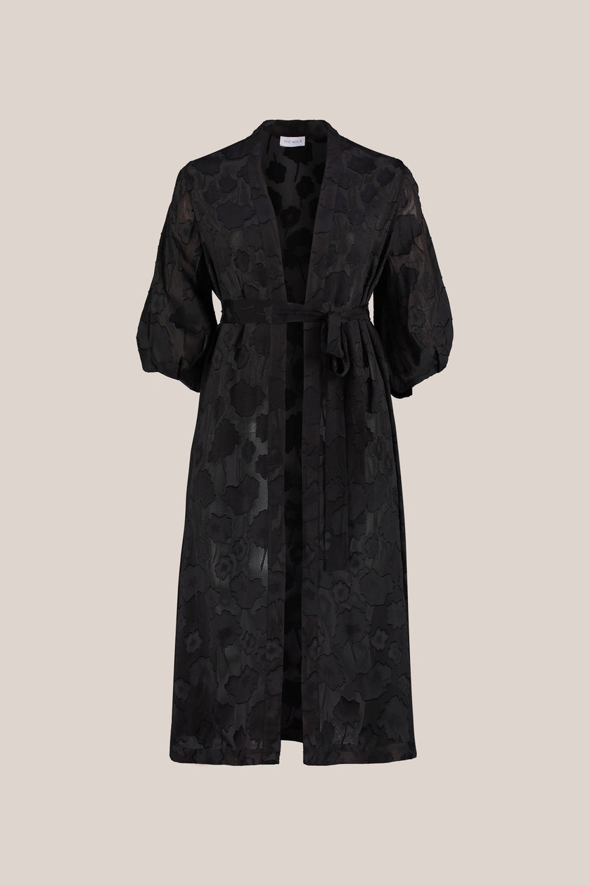 Plus size evening coats