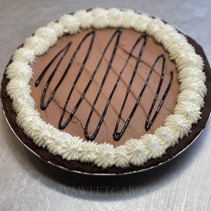 Keto Chocolate Pie