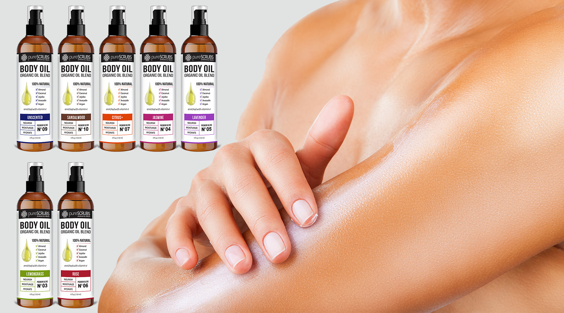 Using pureSCRUBS Body Oils - Detailed Tips & FAQs
