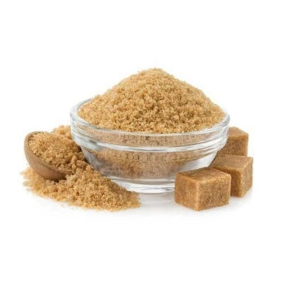 organic brown sugar in our body scrub