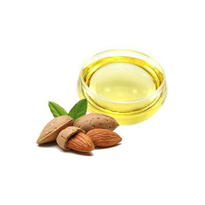 sweet almond oil in our body scrubs