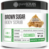 Cucumber Body Scrub / Brown Sugar / Premium Blend #24