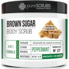 Peppermint Body Scrub / Brown Sugar / Premium Blend #27