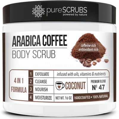 Coconut Body Scrub / Arabica Coffee / Premium Blend #47