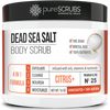 Citrus+ Body Scrub - Dead Sea Salt - Premium Blend #25