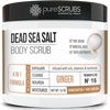 Ginger Body Scrub / Dead Sea Salt / Premium Blend #16