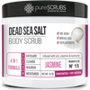 Jasmine Body Scrub / Dead Sea Salt / Premium Blend #15