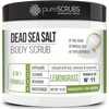 Lemongrass Body Scrub / Dead Sea Salt / Premium Blend #11