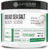 Peppermint Body Scrub / Dead Sea Salt / Premium Blend #12
