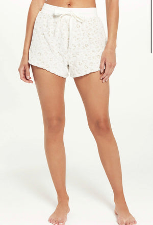 CUDDLE UP LEOPARD SHORT