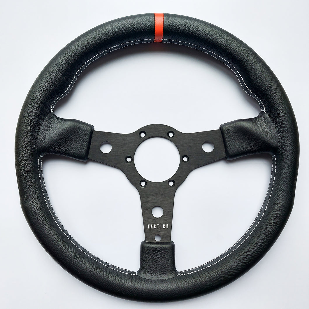 Parabolico Series - Full Grain Leather - Orange Indicator