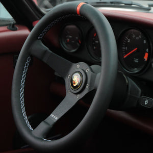 911 Aftermarket Steering Wheel by Tactico for Porsche G-Series, F-Series, MOMO, Sparco, OMP, eau-rouge