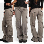 2020 Multi-pocket Baggy Trousers Flared Cargo Pants-Buy 2 Free Shipping