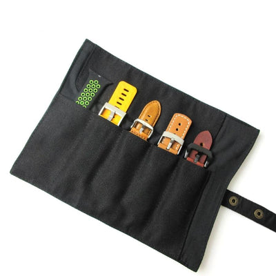 Watch Band Roll Storage Pouch