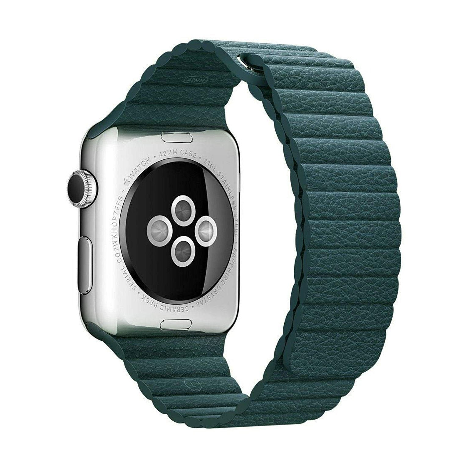 Magnetic Leather Loop Apple Watch Bands