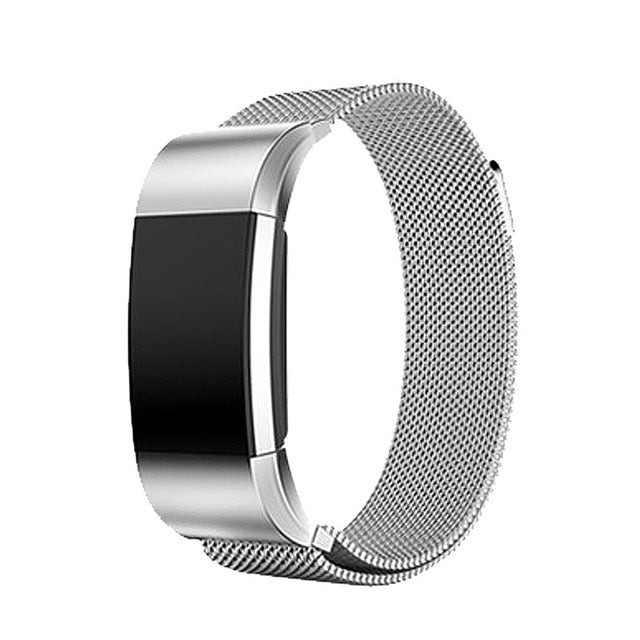 Milanese Stainless Steel Fitbit Charge 2 Bands