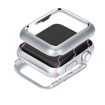 Magnetic Adsorption Metal Frame Protective Case for Apple Watch - The Ninth Co