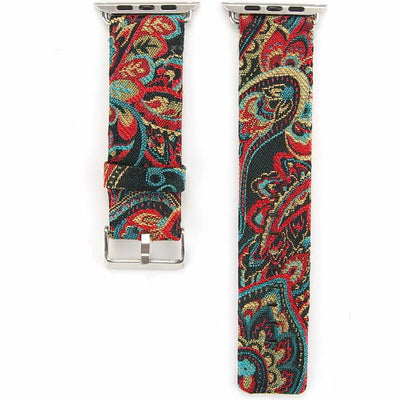 Floral Pattern Leather - The Ninth Co