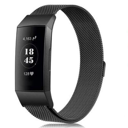 Milanese Loop Fitbit Charge 3 Bands