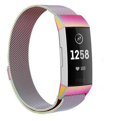 Milanese Loop Fitbit Charge 3 Bands - The Ninth Co