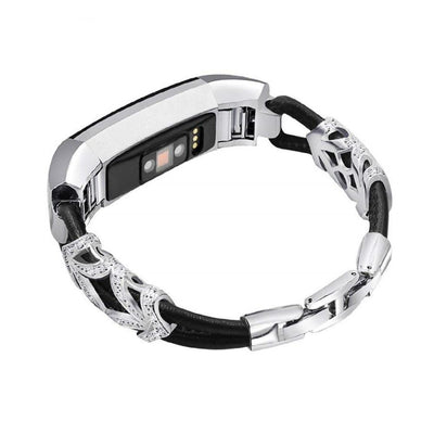 Rhinestone Bracelet Fitbit Alta HR/Alta Bands - The Ninth Co