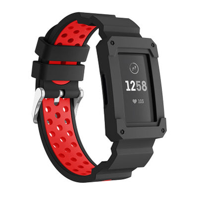 Sport Silicone Band & Protective Case Fitbit Charge 3 - The Ninth Co