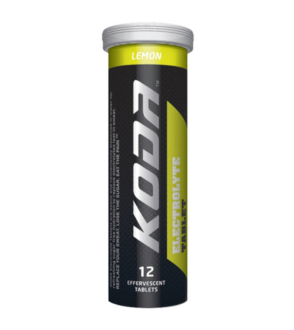 Koda Electrolyte Tablet Lemon (per Tube)